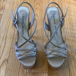 Size 7 Chinese Laundry Tippy Top Teaser heels